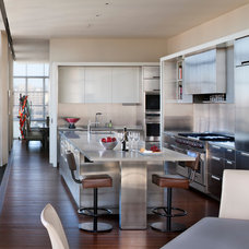 Contemporary Kitchen by BarlisWedlick Architects, Tribeca Studio