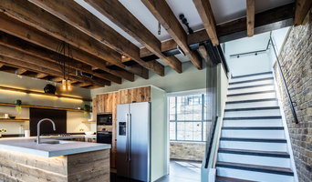 Penthouse Kitchen in Southwark Warehouse Conversion