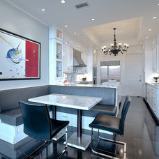 Transitional Kitchen by DELUXE Design & Construction