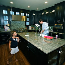 Transitional Kitchen by McCall Homes
