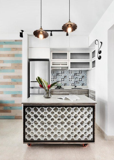 Contemporary Kitchen by AMP DESIGN CO. PTE.LTD