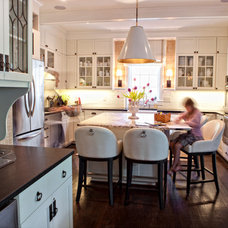Traditional Kitchen by Barbour Spangle Design Group