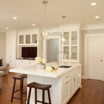 Perfectly sized beautiful and functional kitchen