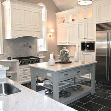 Traditional Kitchen by Melanie King Designs
