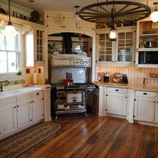 Farmhouse Kitchen by Jordan Woodworking