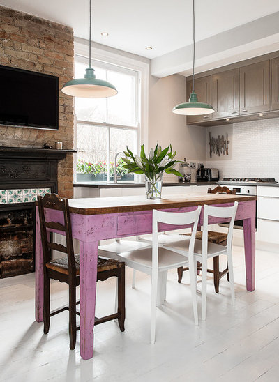 Farmhouse Kitchen by Veronica Rodriguez Interior Photography