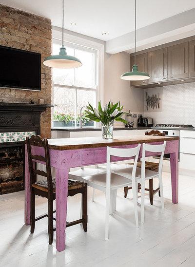 カントリー キッチン by Veronica Rodriguez Interior Photography