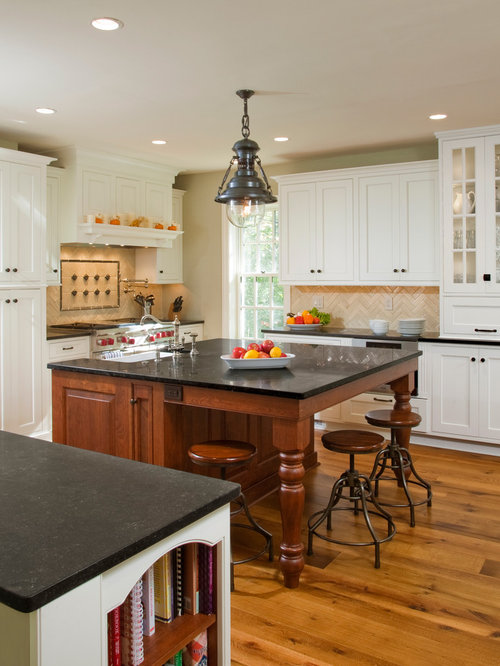 Inspiration For A Timeless Kitchen Remodel In Philadelphia With Beaded  Inset Cabinets, White Cabinets,