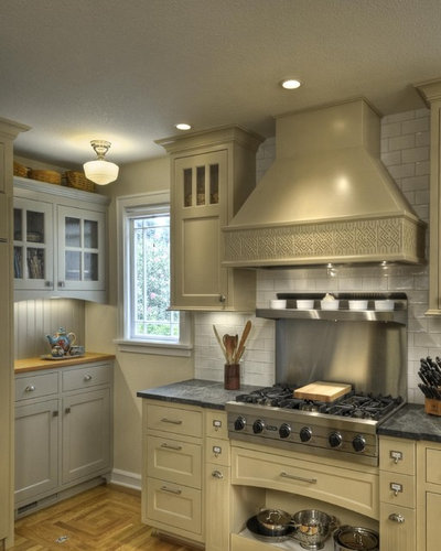 Arts & Crafts Kitchen by Chris Donatelli Builders