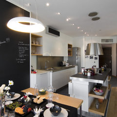 modern kitchen by Neslihan Pekcan/Pebbledesign