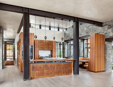 Perry Park Residence and Equestrian Facility - Kitchen