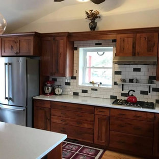 Perry Rustic Red Homesteader Kitchen