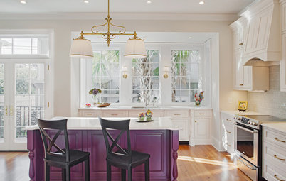 Kitchen of the Week: Bye-Bye, Big Red Wall