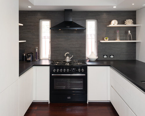 Kitchen design ideas renovations photos with granite for Adams cabinets perth