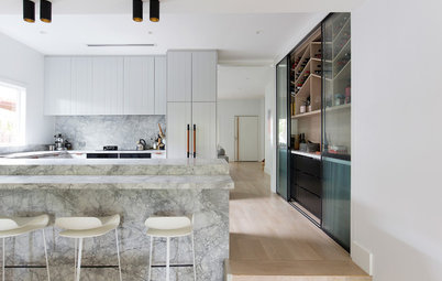 Room of the Week: A Kitchen Where Marble Meets Meticulous Joinery
