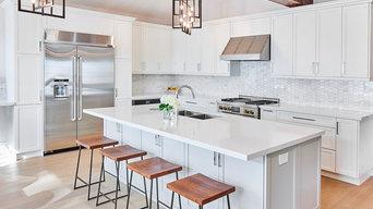 Peter street residence - White kitchen