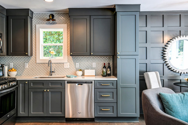 Transitional Kitchen by Carl Mattison Design