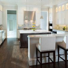 Transitional Kitchen by Ellen Grasso & Sons, LLC