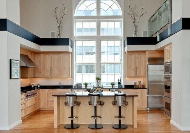 Contemporary Kitchen by Amanda Alligood