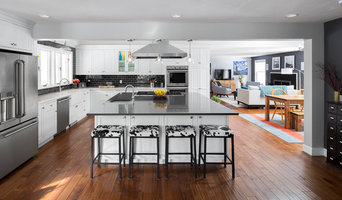Philip Open Concept Kitchen + First Floor--Newton, Massachusetts