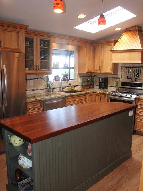 Medium sized l shaped kitchen design ideas renovations - Medium sized kitchen design ideas ...