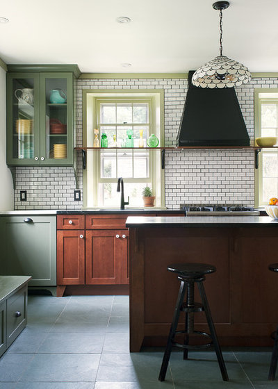 Eclectic Kitchen by Airy Kitchens