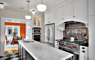 8 Statement-Making Kitchen Backsplashes Beyond Basic Tile