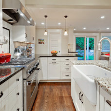 Traditional Kitchen by Carlisle Classic Homes