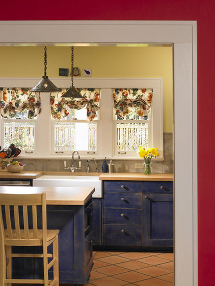 Eclectic Kitchen by Goforth Gill Architects
