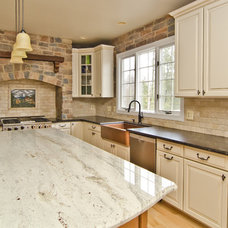 Mediterranean Kitchen Countertops by Mark Petinga Photography, Inc.