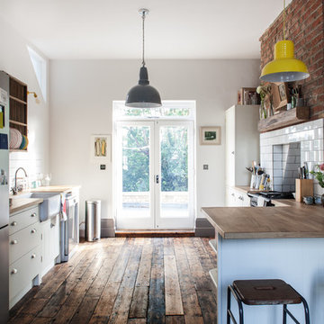 Photography for HFM Architects, house refurbishment, North London