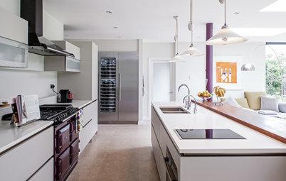 Envie d'extravagance : 25 idées déco pour oser le violet en cuisine