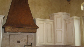 Photos of new construction, remodels, stenciling, cabinet refinishes, furniture