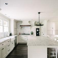 Transitional Kitchen by Whitestone Enterprises, LLC