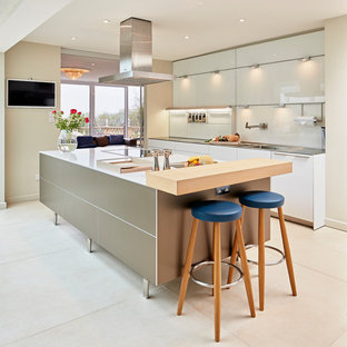 Photoshoot for Hobsons Choice of a bulthaup b3 kitchen installation