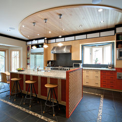 contemporary kitchen by Shelley Kirsch Interior Design and Decoration