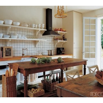 Pictures of Country Kitchens – Inspiring Rustic Country Kitchens from ELLE DEC