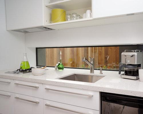 Images de d coration et id es d co de maisons beakers for Houzz cuisine moderne