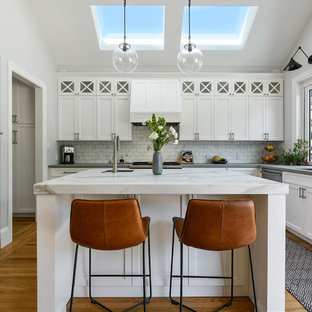 Example of a trendy kitchen design in San Francisco