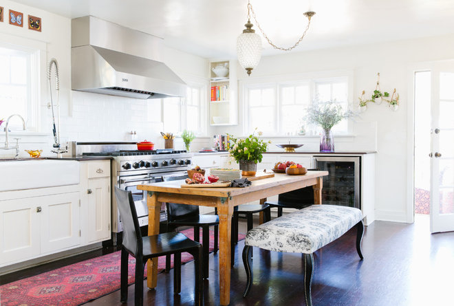 Eclectic Kitchen by Christina Karras
