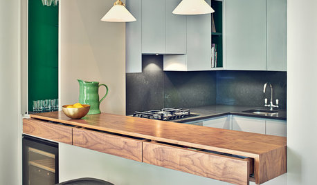 9 Ways to Get the Most Out of a Short Kitchen Island
