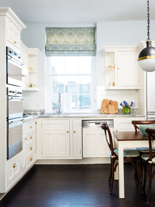 Small eat in kitchen design ideas remodel pictures houzz for Small eat in kitchen decorating ideas