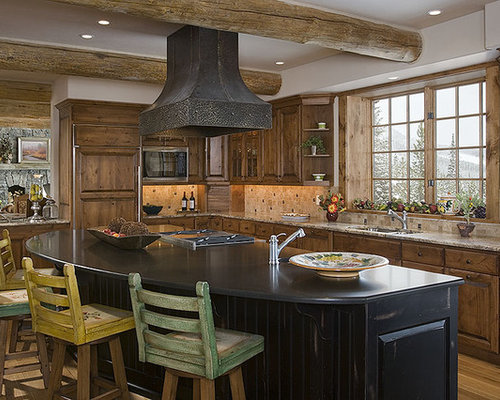 Rustic Vent Hood Home Design Ideas, Pictures, Remodel and ...