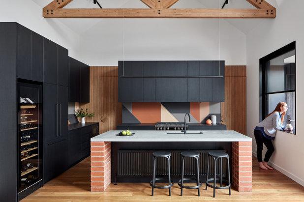 Современный Кухня by Bryant Alsop Architects