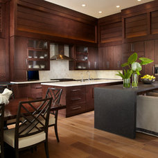 Transitional Kitchen by Straticon