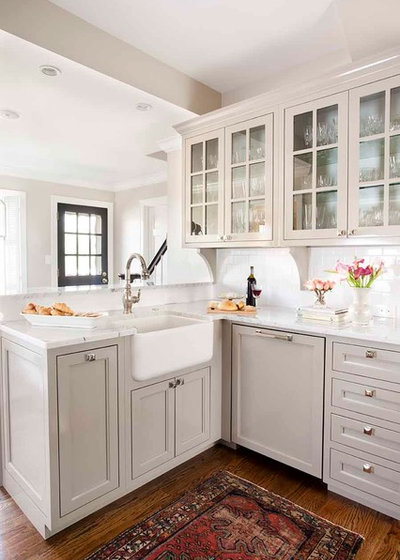 American Traditional Kitchen by Terracotta Design Build