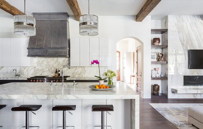 New This Week: 3 High-Contrast Luxe Kitchens