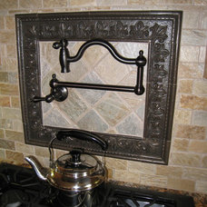Traditional Kitchen by Pink Door Designs