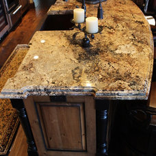 Traditional Kitchen by Granite and Marble Designs