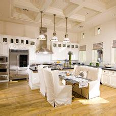 Mediterranean Kitchen by Simpson Design Associates, LLC